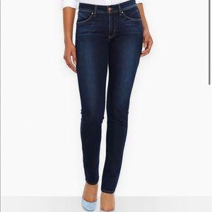LEVI dark skinny jeans